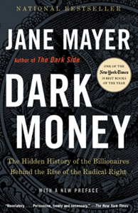 Cover of Dark Money by Jane Mayer